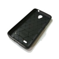 CASING COVER HP VIVO Y21 Y22 IPAKY CARBON FIBER SOFT