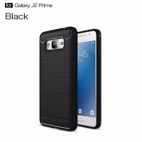CASING COVER HP SAMSUNG GALAXY J2 PRIME IPAKY CARBON SOFT