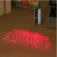 Jual Wireless Keyboard Teknologi Proyeksi Laser Virtual -Model Mini Stylist Murah