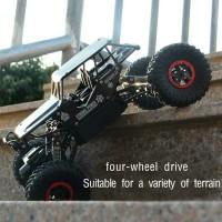 RC ROCK CRAWLER SKALA 1.18 4WD OFFROAD 2.4ghz MOBIL REMOTE TERLARIS