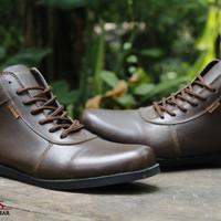 sepatu boots terbaru original Dr. faris brodo kulit asli super quality