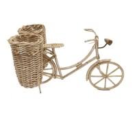 Kerajinan Tangan Rotan Natural - Sepeda Keranjang Kangk Berkualitas