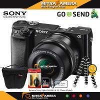 Kamera Sony Alpha A6000 Kit 16-50mm (Paket)