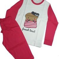 Harga piyama baju tidur anak katun cotton model french | antitipu.com