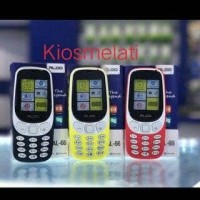 Handphone Aldo AL66- Mirip Hp nokia 3310 New