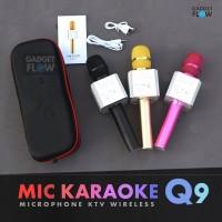 Jual Mic Microphone Karaoke Q9 MicGeek KTV Bluetooth Wireless Portable Murah