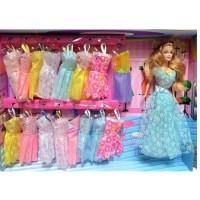 Mainan pakaian Barbie BESSIE 8022