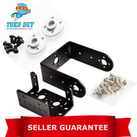 2 DOF Short Pan And Tilt Servo Bracket Multipurpose For MG995 MG996R