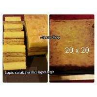 Jual Lapis Surabaya mix Lapis LEGIT / 20X20 Murah