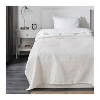 Ikea Indira ~ Penutup Tempat Tidur- Katun Putih 150x250cm   Bedspread