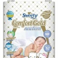 Jual Pampers Sweety Comfort Gold Newborn 52 Popok Bayi Murah