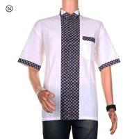 Pakaian Pria Muslim Baju Koko Batik Alvin Motif 14 Terbaru
