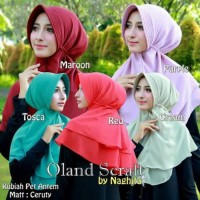 Promo Murah Jilbab Instan kerudung Hijab Rubiah Pet antem Terbaru