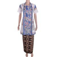 Harga baju pakaian wanita formal casual dress kebaya batik encim koin | Pembandingharga.com