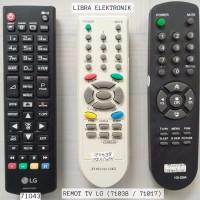 Remot TV LG LED Dan LCD Yang Kode Nya 71043 Akurat