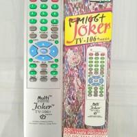 Remot TV Multi Joker Bisa Untuk Segala Jenis Merk TV Mudah Akurat