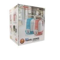 Rice Cooker Mini Portabel / Maspion Mini Travel Cooker MRJ-050