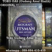 Biografi Utsman bin Affan Hard Cover Ummul Qura Original