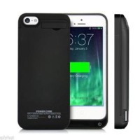 aksesoris handphone / hp power bank Power Case 4200mAh For iPhone 5,