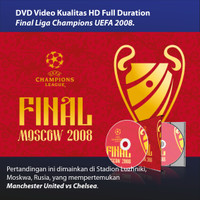 DVD HD - Final UEFA Champions League 2008 ManUnited vs Chelsea