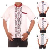 Hem Koko Batik Katun Kombinasi Aji - Super Murah