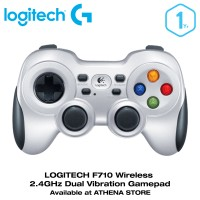 Jual LOGITECH F710 Wireless 2.4GHz Dual Vibration Gamepad Joystick Original Murah