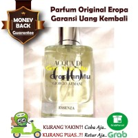Parfum Original 100% Acqua Di Gio aqua Digio Essenza esensa Ori Reject