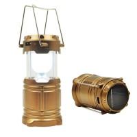 Jual LENTERA CAMPING SOLAR / POWERBANK SOLAR LAMPU EMERGENCY Murah