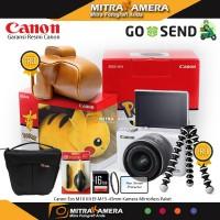 Canon EOS M10 Kit EF-M15-45mm (Paket Gebyar)