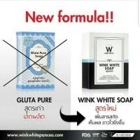 Harga gluta soap by wink | antitipu.com