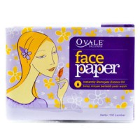 Ovale Face Paper Isi 100 Lembar