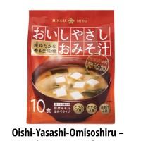 HIKARI OISHI YASASHI OMISOSHIRU (INSTANT MISO SOUP NO ADDITIVE)