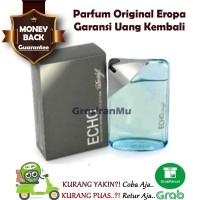 Parfum Original 100% Davidoff Davidof Echo Eco Ekho Ori NonBox Counter