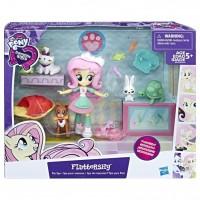 Equestria Girls Minis Fluttershy Pet Spa Set | My Little Pony