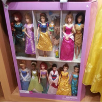 Boneka Barbie Set Classic Doll original disney store Ariel Rapunzel