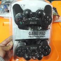 Gamepad / Stick Usb Double Getar M-Tech Hitam (2 pcs)