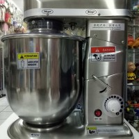 HEAVY DUTY STAND MIXER AKEBONNO STAINLESS 10 LITER - SL-B10