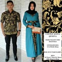 harga Sarimbit Setelan Gamis Batik Couple Modern Seragam Batik Keluarga Tokopedia.com