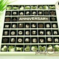 coklat rasa Greentea kado anniversary cantik