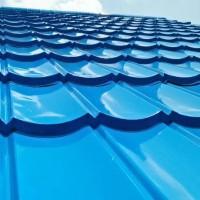 atap rumah genteng metal
