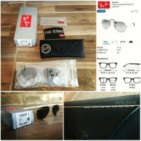 [BNIB] Original Rayban Aviator RB3025 004/78 - Polarized Lenses