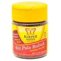 Biji Pala bubuk koepoe koepoe, Nutmeg powder kupu2 37gram