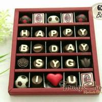 kado coklat praline ulang tahun tema bola ac milan