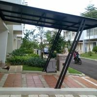 Jual Canopy Besi Hollow Atap Polycarbonat Kab Bogor Pandawa