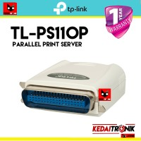 TP-LINK TL-PS110P Parallel Print Server Fast Ethernet LAN TPLINK DB25