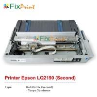 Printer Epson A3 Dot Matrix LQ2190 LQ-2190 LQ 2190 Bekas (Lengkap)
