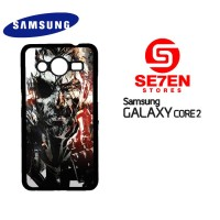 Casing Samsung Galaxy Core 2 Metal Gear Solid Custom Hardcase