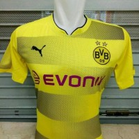 JERSEY BOLA BORUSSIA DORTMUND HOME OFFICIAL 17/18 GRADE Limited