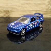 DIECAST HOT WHEELS BMW E36 M3 RACE BLUE HW RACE TRACK STARS - LOOSE