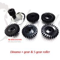 Gear roller dan motor mesin tetas telur